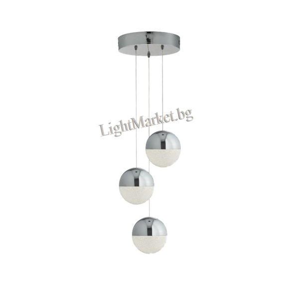 SEARCHLIGHT LED Пендел MARBLES 5842-3CC 3x12W 4000K