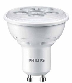 PHILIPS LED лампа 4.5W 220V GU10 3000K