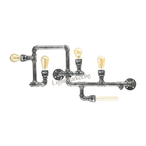 IDEAL LUX Модерен Плафон PLUMBER PL5 175324 5xE27