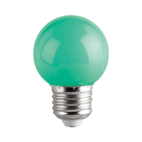 LED лампа COLORS LED CL G45 1W E27 Green