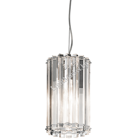 LED Кристален Пендел ELSTEAD CRYSTAL SKYE KL/CRSTSKYE/MP 2x3.5W IP44