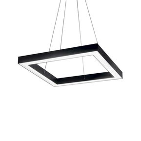LED пендел IDEAL LUX ORACLE D50 SQUARE NERO 245676