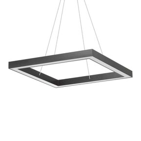 LED пендел IDEAL LUX ORACLE D60 SQUARE NERO 245690