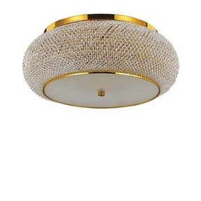 Плафон Ideal Lux 165004 PASHA PL14 GOLD