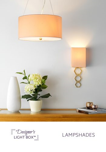 Elstead Designers Light Box Lampshades